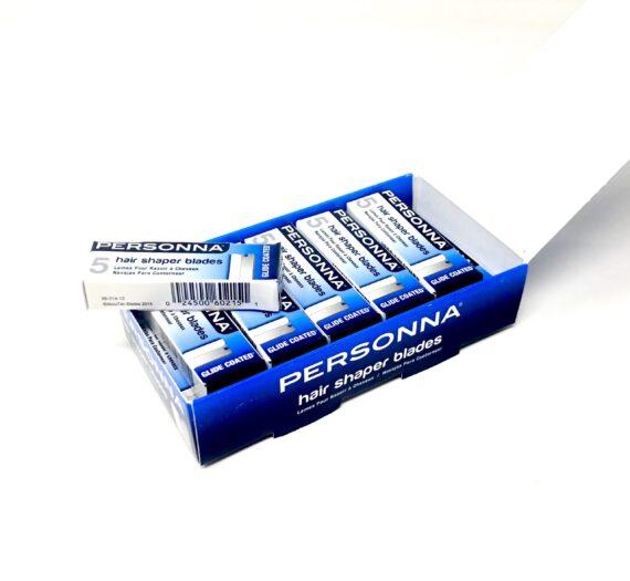 Personna Hair Shaper Blades - 60 Blades (5 Blades X 12 Pack)