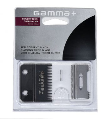 Gamma + shallow tooth clipper blade