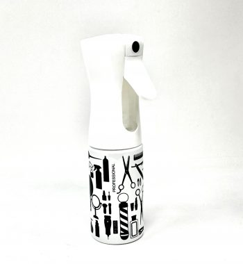 salon beauty Mist bottle white graphic 200ml