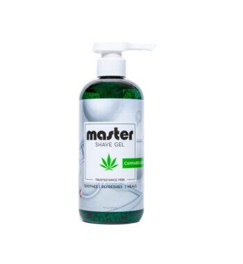 Master shave gel cannabis sativa oil 16oz