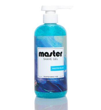 Master shave gel master blue