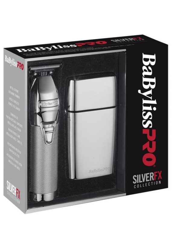 BaBylissPro SilverFX Collection Combo FXHOLPK2S