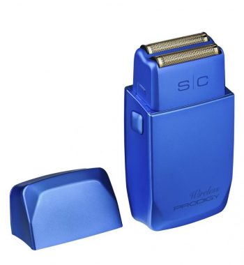 STYLECRAFT WIRELESS PRODIGY FOIL SHAVER METALIC MATTE BLUE