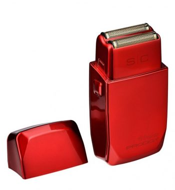 STYLECRAFT WIRELESS PRODIGY FOIL SHAVER SHINY METALLIC RED