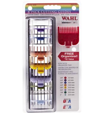 Wahl 8-Pack Colored Comb Guides #3170-400
