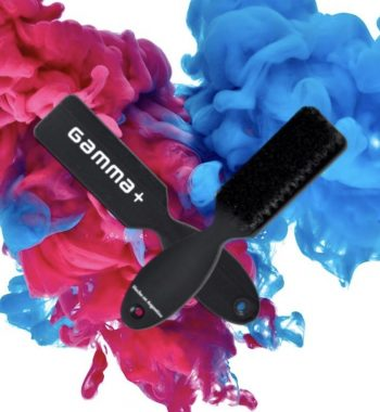 Gamma + professional fading and cleaning barber brush