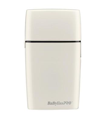 BaBylissPro Cordless Metal Double Foil Shaver White FoilFx02 FXFS2W