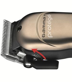 Gamma + Alpha protege Gunmetal cordless clipper