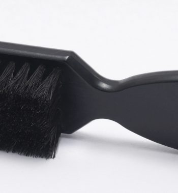Gamma + professional fading & cleaning barber brush