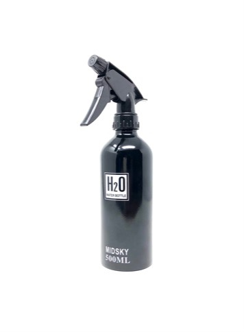 midsky 500ml black H20 aluminum mist bottle