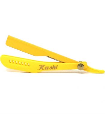 Kashi razor holder yellow slide