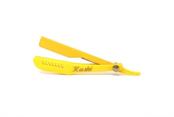 Kashi razor holder yellow slide