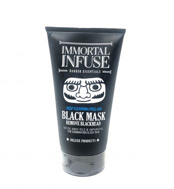 Immortal Infuse deep cleansing peel off Black Mask
