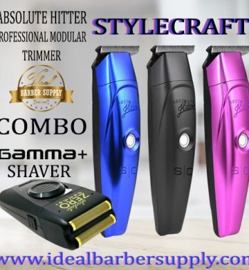 StyleCraft absolute hitter and Gamma absolute Zero shaver combo