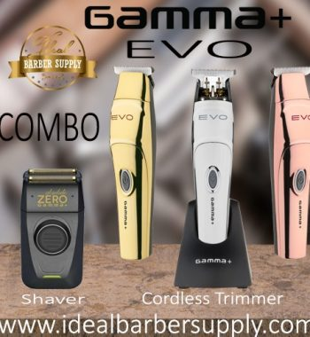 Gamma+ EVO Trimmer and Gamma absolute Zero shaver combo