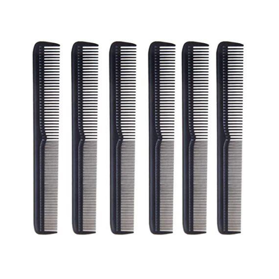 Diane 7'' barber comb 12 pack D52
