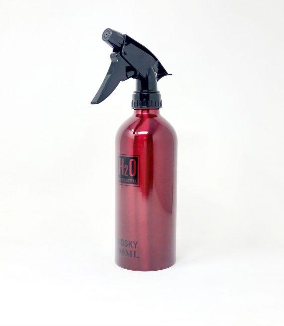 midsky 500ml Red H20 aluminum mist bottle