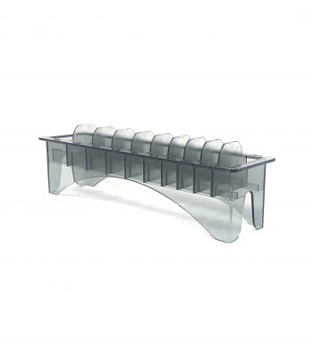 Organizer Rack Clipper guard Holder - transparent black