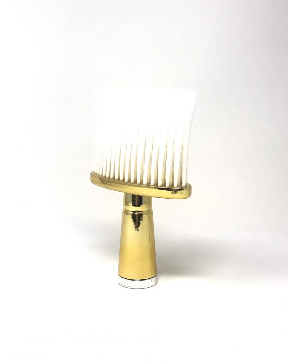 Gold T- wide neck duster with soft bristles