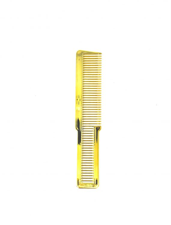 Gold Flat top Comb
