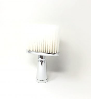 Silver T- wide neck duster with soft bristles