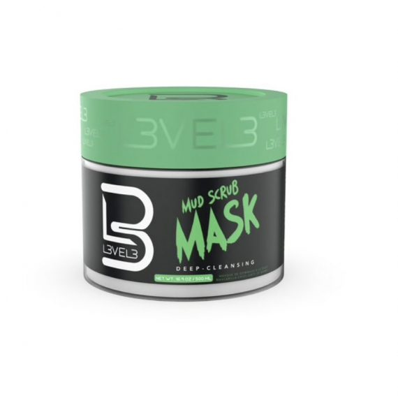 L3VEL3™ Mud Facial Scrub 500 ml