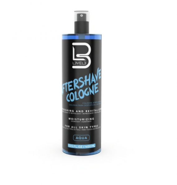 L3VEL3™ Aqua After Shave Cologne 400 ml
