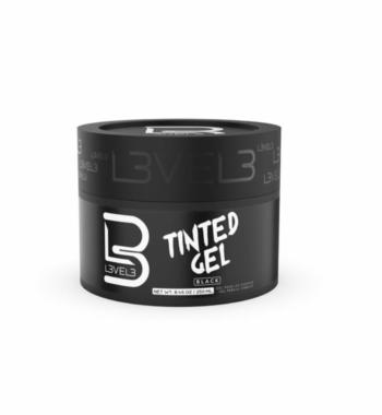 L3VEL3™ Tinted Hair Gel - Black Color 250 ml