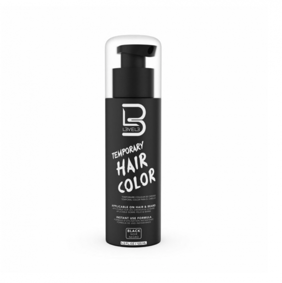 L3VEL3™ Beard Color - Black Dye 100 ml
