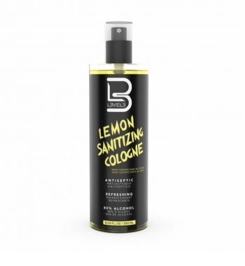 L3VEL3™ Lemon Sanitizing Cologne 250 ml