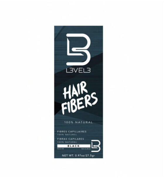 L3VEL3™ Hair Fibers - Black