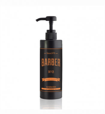 Marmara Barber Cream Cologne After Shave 400ml - No3 orange