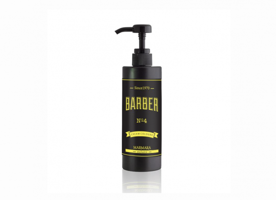 Marmara Barber Cream Cologne After Shave 400ml - No4 yellow