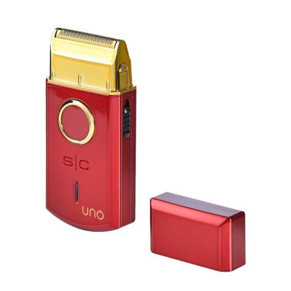 StyleCraft UNO cordless single foil li shaver - red