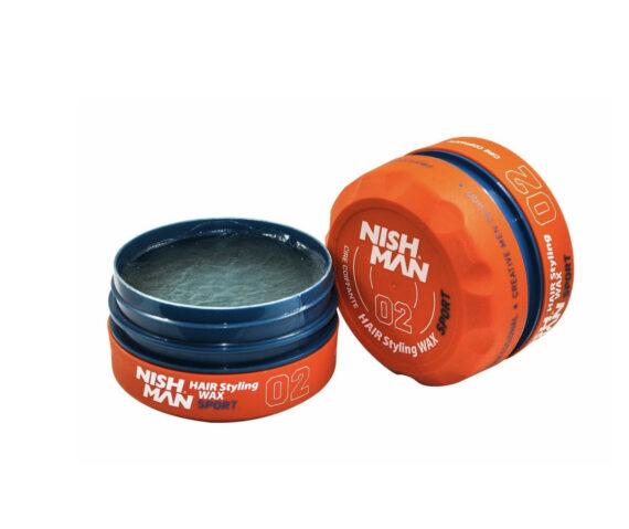 NISHMAN Hair Styling Wax 02 Sport 150 ml