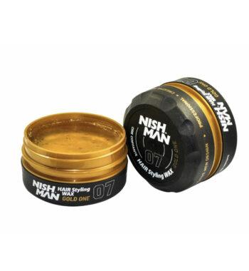 NISHMAN Hair Styling Wax 07 Gold One 150 ml