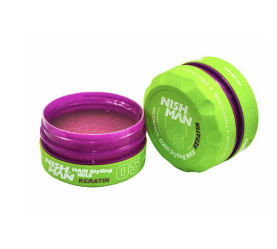 NISHMAN Hair Styling Wax 05 Keratin 150 ml