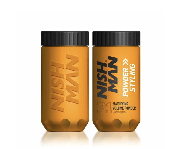 NISHMAN Mattifying volume styling powder light control 20 g
