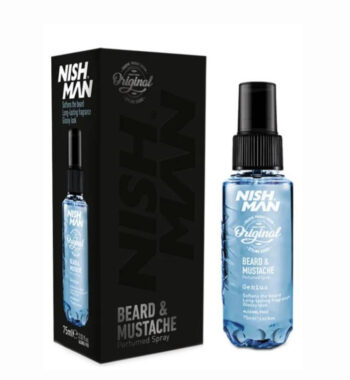 NISHMAN Beard & Mustache perfumed spray 75 ml