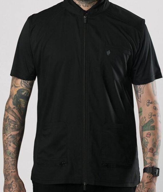 Barber Strong Barber Vest - Black