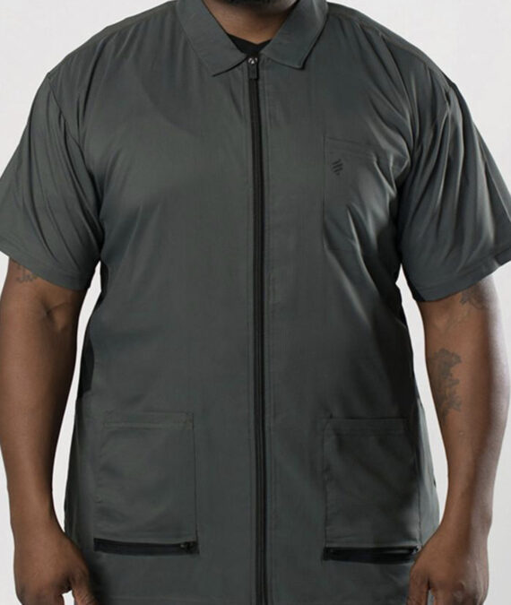 Barber Strong Barber Jacket - Gray