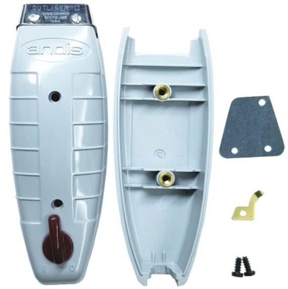 Andis T-outliner Housing Case Cover Set Top and Bottom #200694