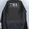 TRUBARBER PROFESSIONAL BARBER CAPE – Black With White Letters