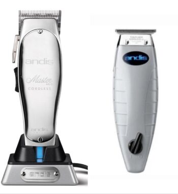 Andis 2pc Cordless Combo by ibs - Cordless Master, Cordless T-Outliner