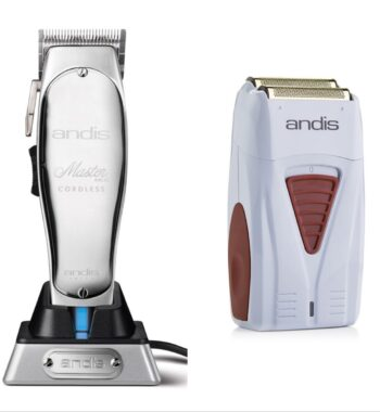 Andis 2pc Cordless Combo a by ibs - Cordless Master, Cordless Foil Shaver