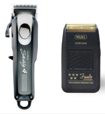 Wahl Pro 2pc Combo by ibs - Sterling 4 Cordless, Finale Foil Shaver