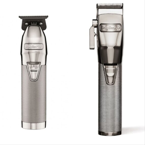 Babylisspro 2pc SilverFX Combo by IBS - FX Clipper, FX Trimmer