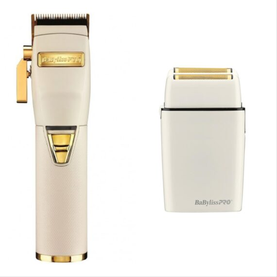 Babylisspro 2pc b WhiteFX Combo by IBS - FX Clipper, FX Shaver