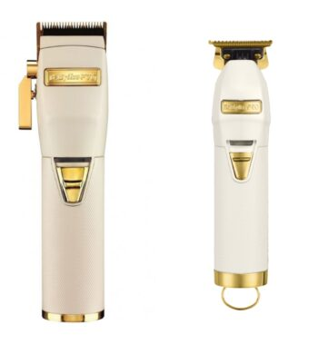 Babylisspro 2pc A WhiteFX Combo by IBS - FX Clipper, FX Trimmer