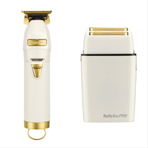 Babylisspro 2pc c WhiteFX Combo by IBS - FX Trimmer, FX Shaver